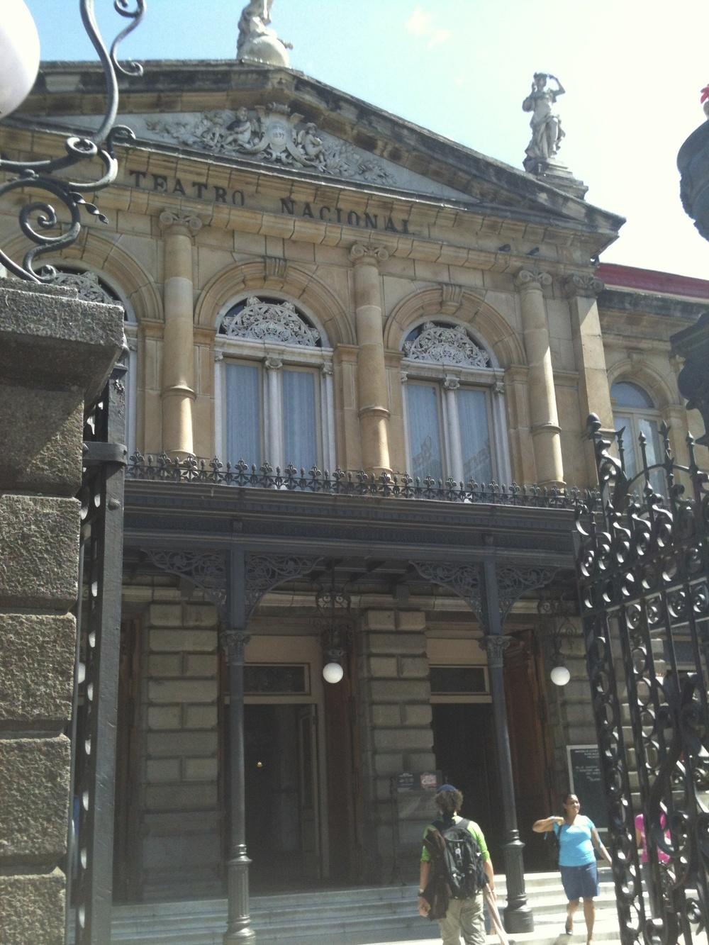 Teatro Nacional San José Costa Rica