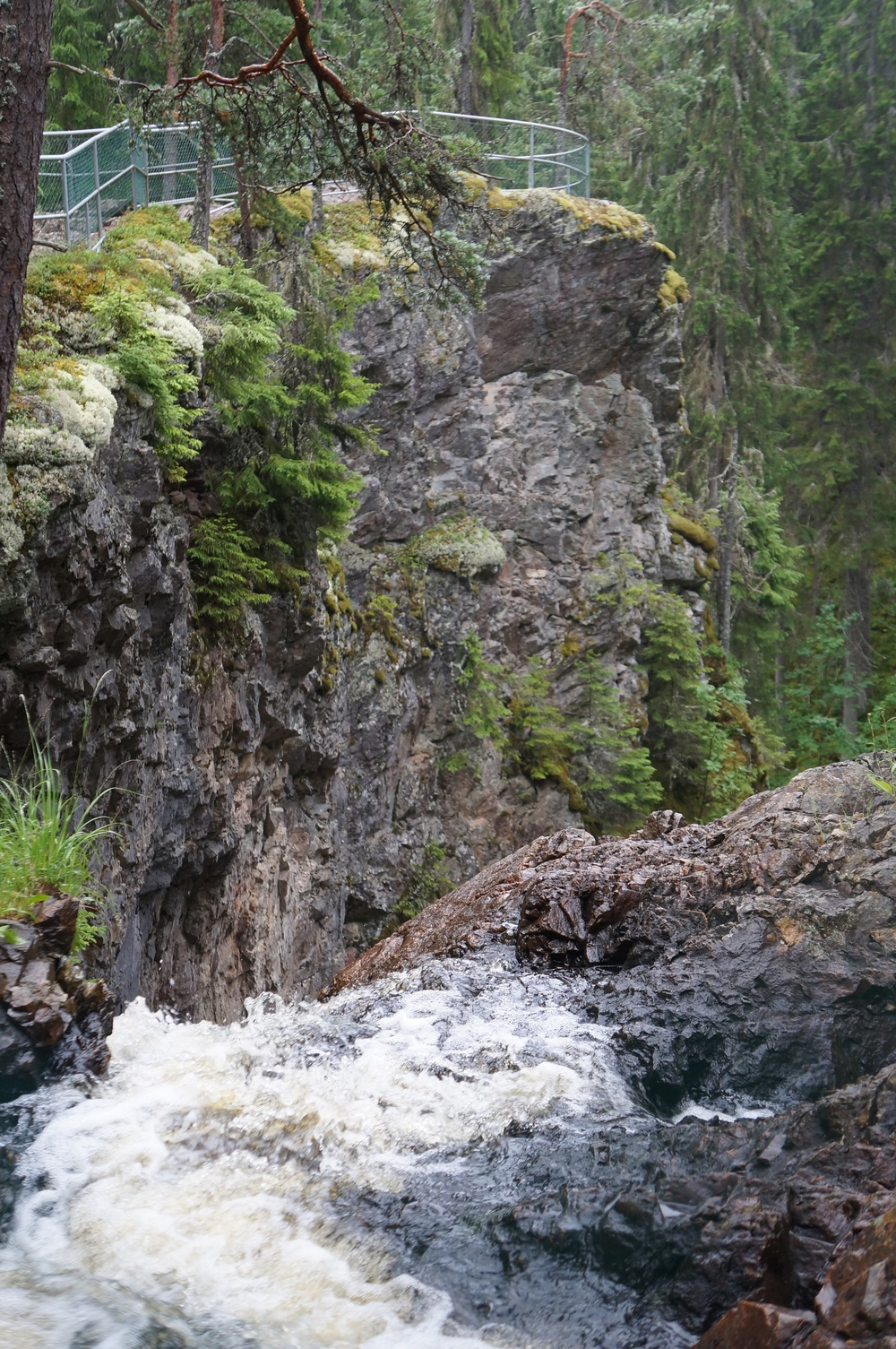 Styggforsen waterfall, Rättvik, Dalarna county, Sweden