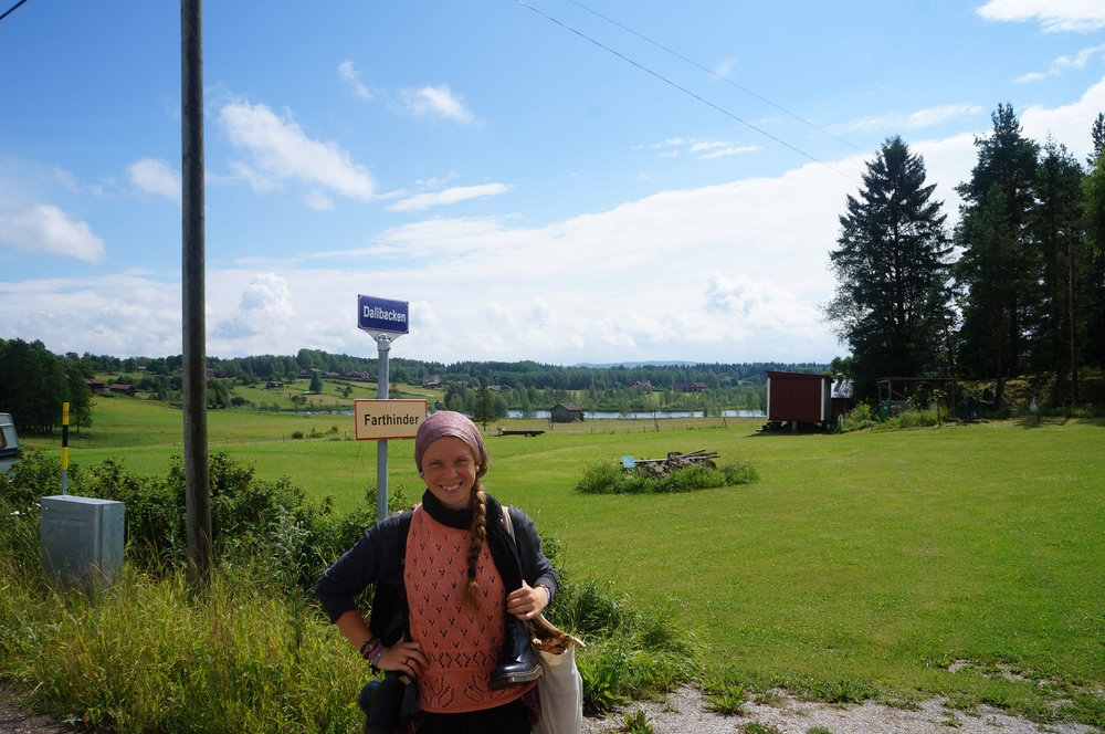 Random walking somewhere outside Rättvik, Sweden