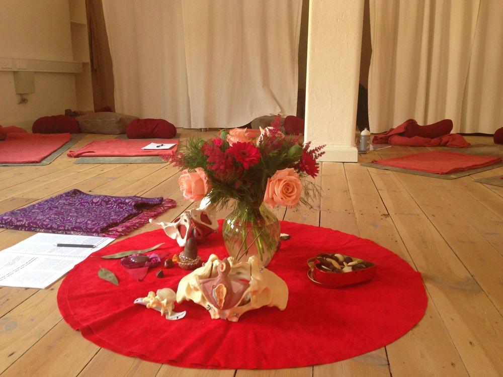 Womb Yoga Ceremony