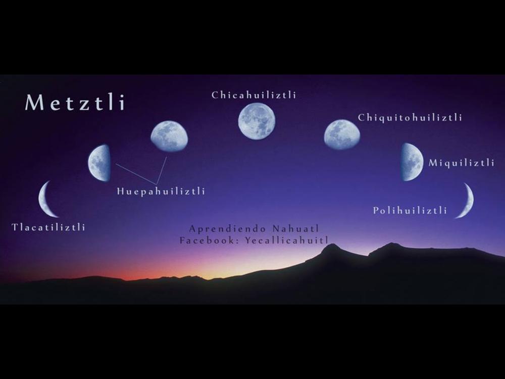 Metzli= Måne på Nahuatl