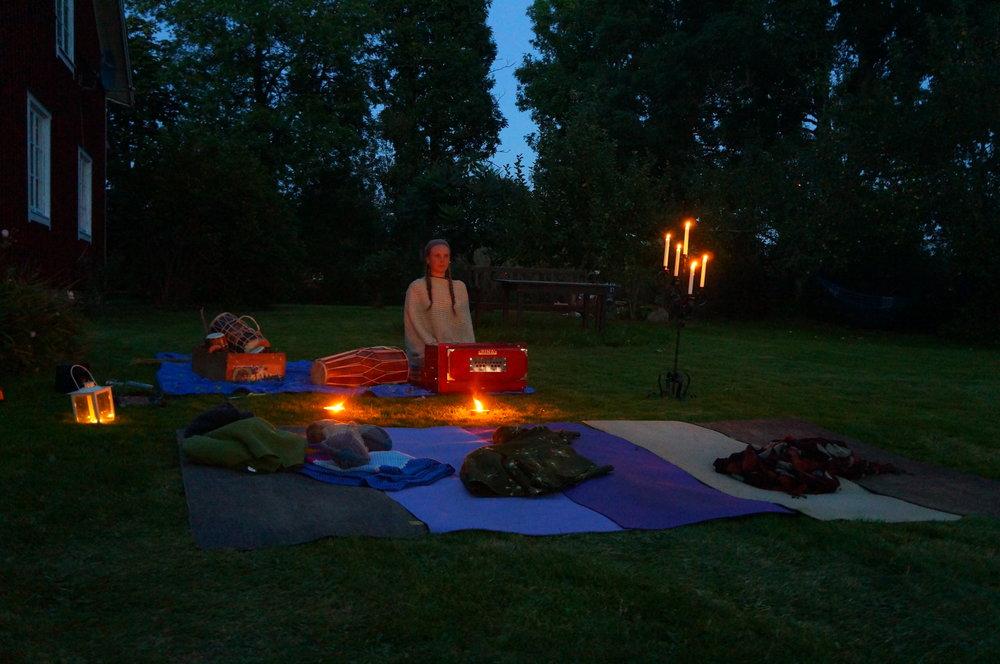 Yoga Retreat och ljudhealing-meditation Casa OM, Odensjö, Småland
