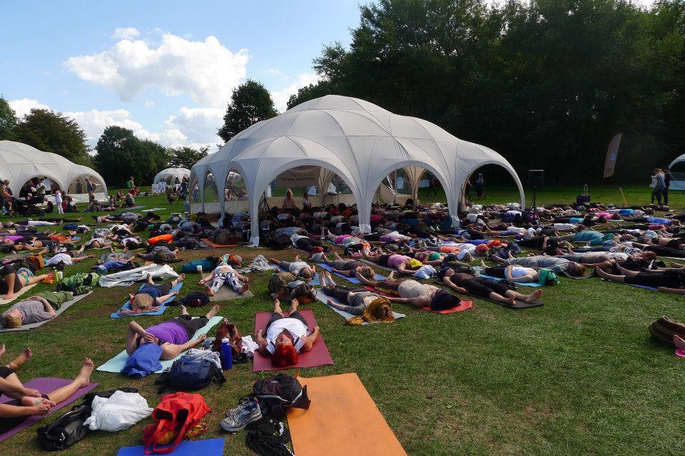 Yin Yoga vila i sommaren