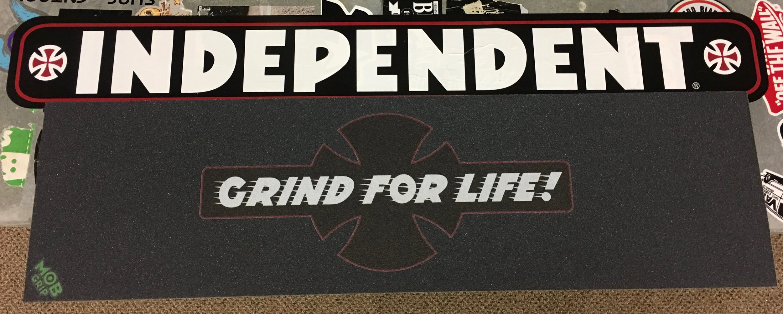 693863109cd Grind for Life GRIP TAPE Independent by MOB GRIP