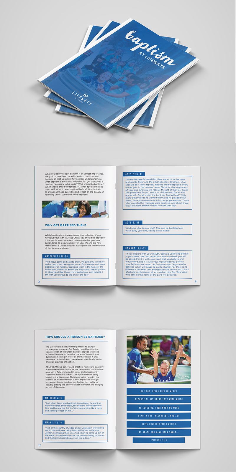 LIFEGATE CHURCH - BAPTISM BOOKLET