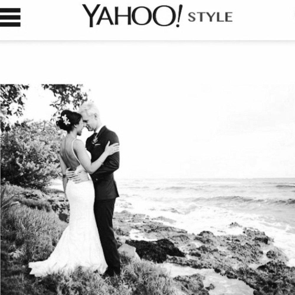 Yahoo Style - Caroline Fare Couture