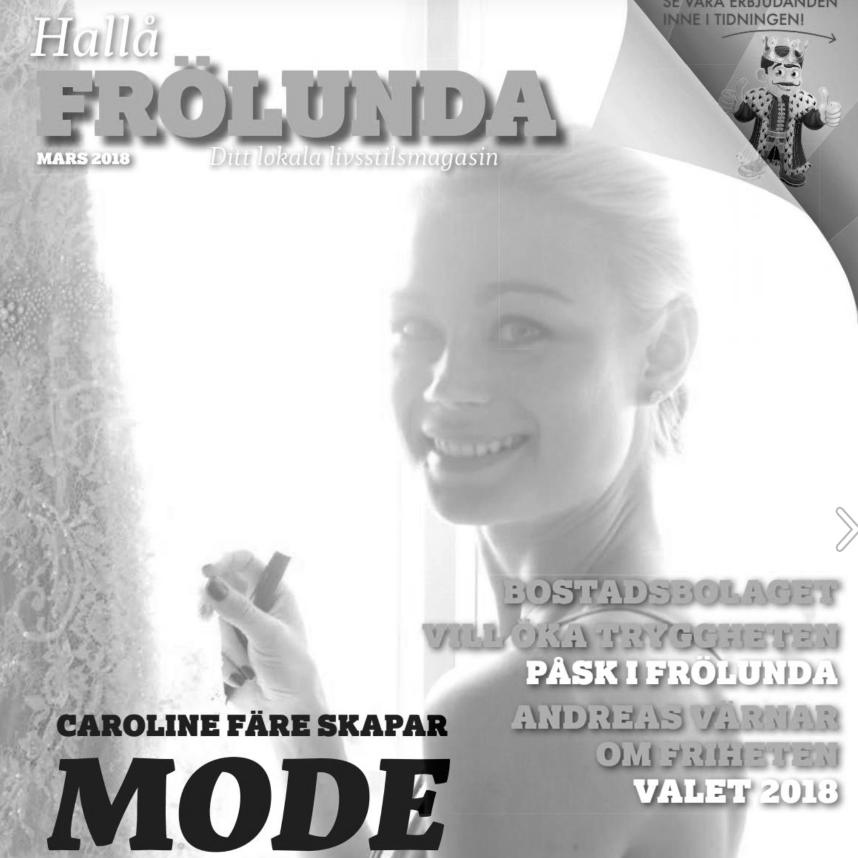 Hallå Magazine - Caroline Fare Couture