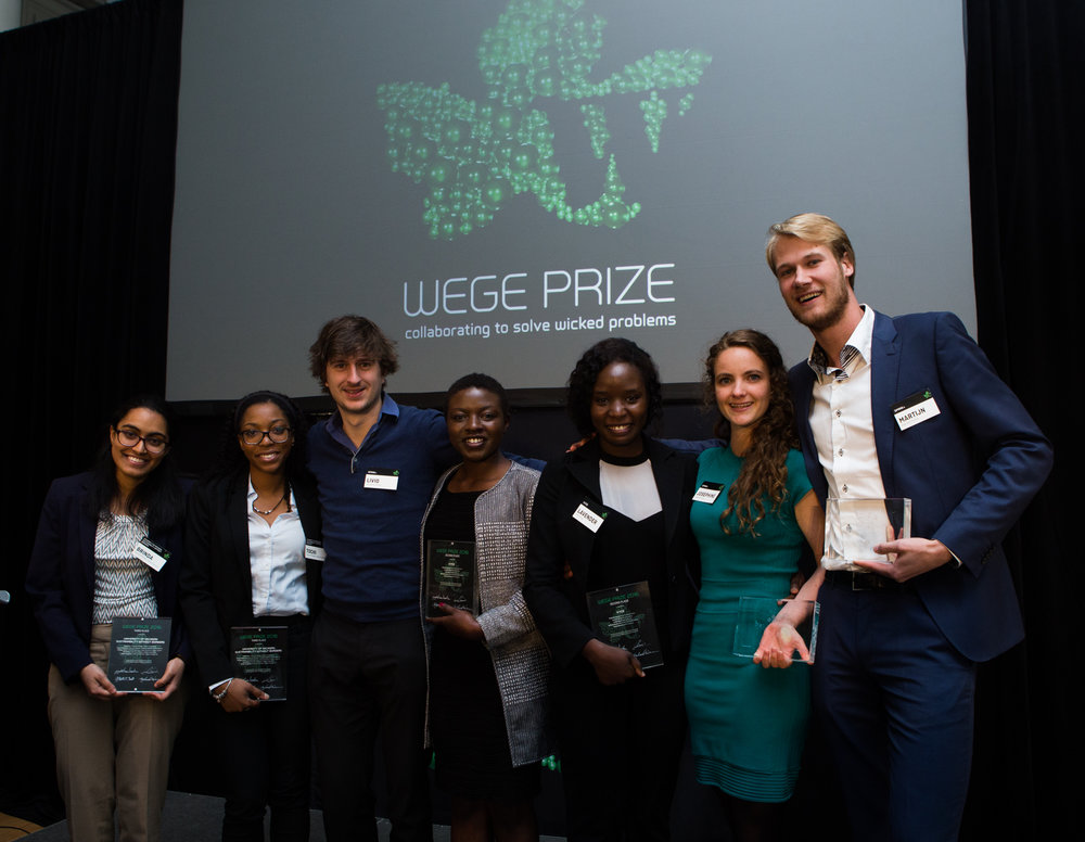 Winners of Wege Prize 2016