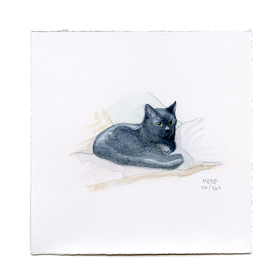Suggested by Cobleigh | Watercolor, verithin colored pencil, pencil