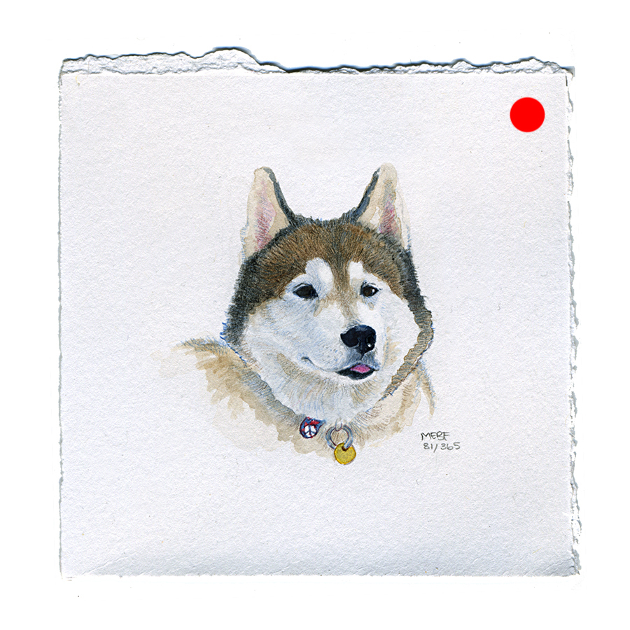 Suggested by Kate S. | Watercolor, verithin colored pencil