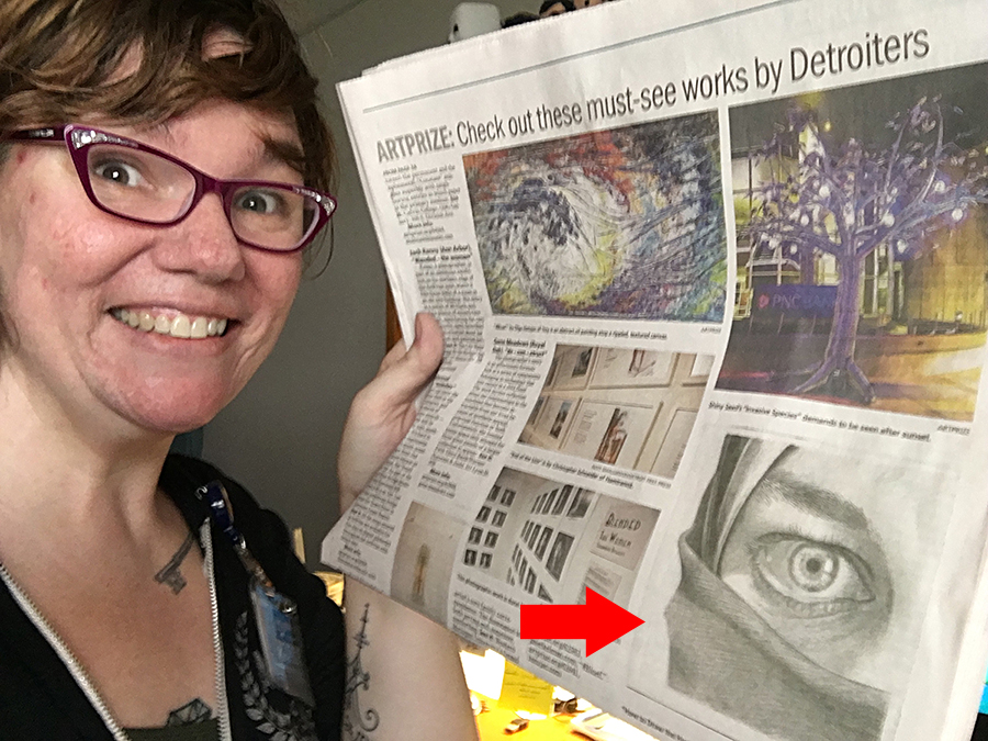 The Detroit Free Press included my entry in their top 10 Detroiter ArtPrize entries! See the article  HERE .