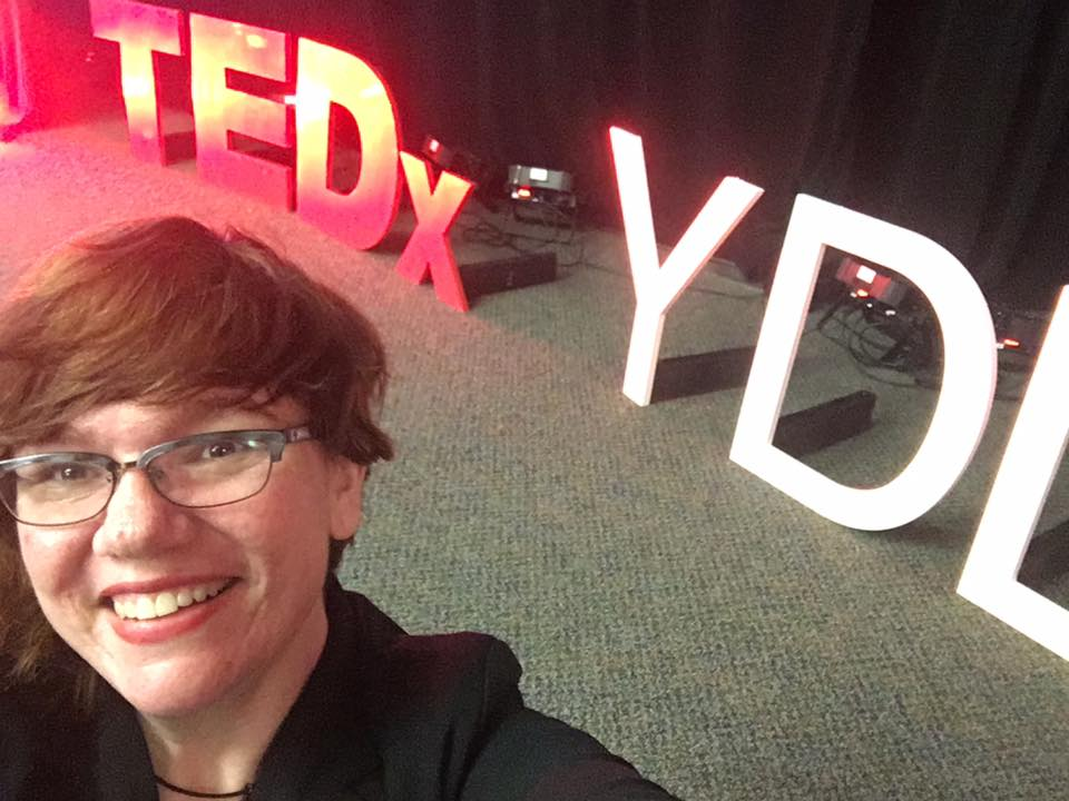 Yours truly, an amazed TED speaker