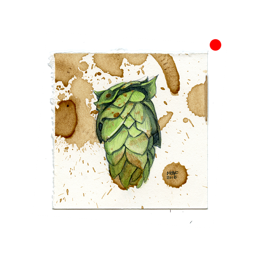 beer-stained_hops(SOLD).jpg