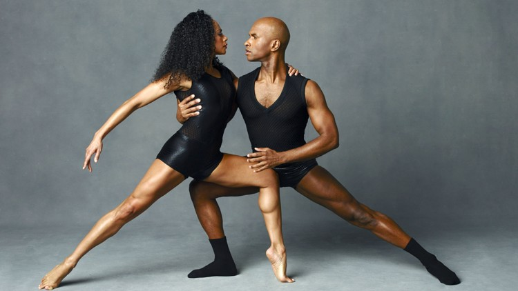 Alvin Ailey American Dance Theater's Linda Celeste Sims and Glenn Allen Sims. Photo by Andrew Eccles_03.jpg