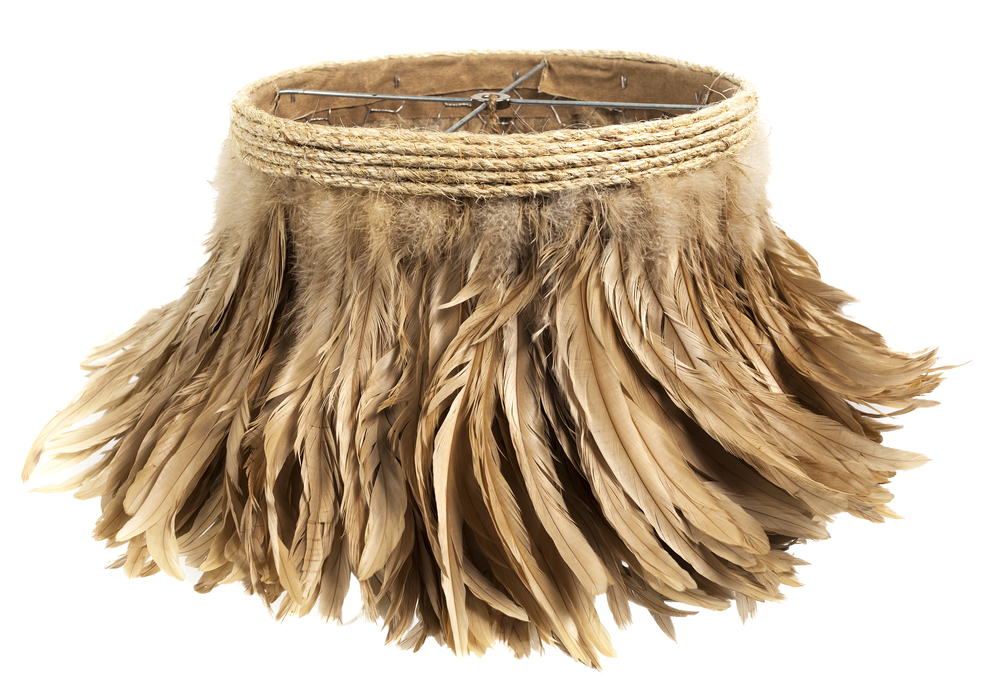 Camel Feather Lamp