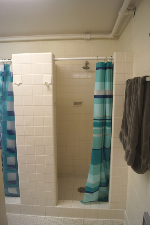 Before: Shower Area