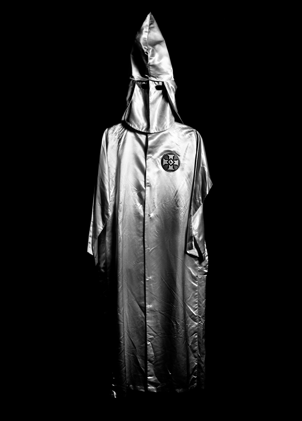 Ku Klux Klan costume, Birmingham Civil Rights Institute, 2009.