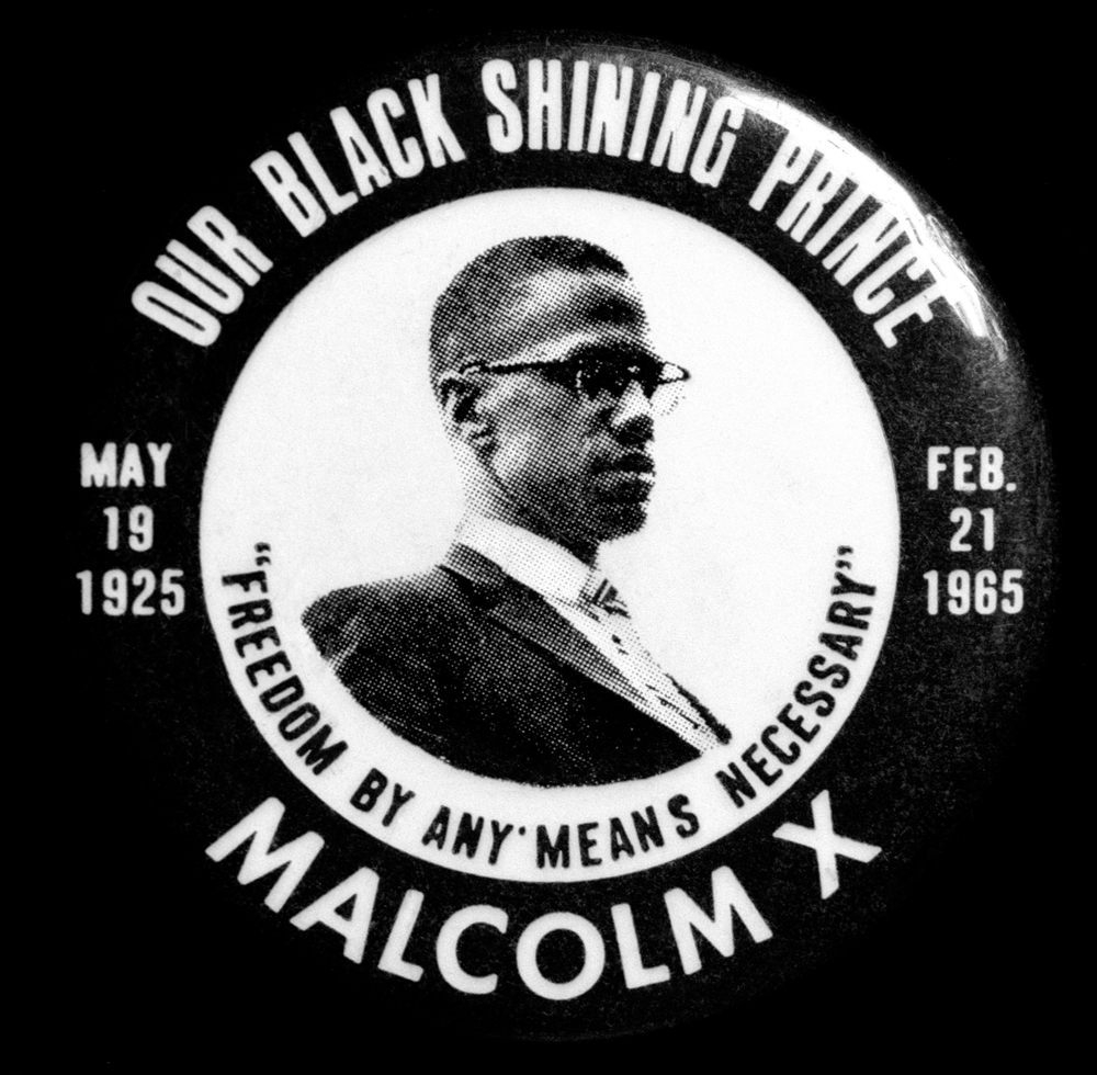 Malcolm X button | Smithsonian Museum, DC | 2009