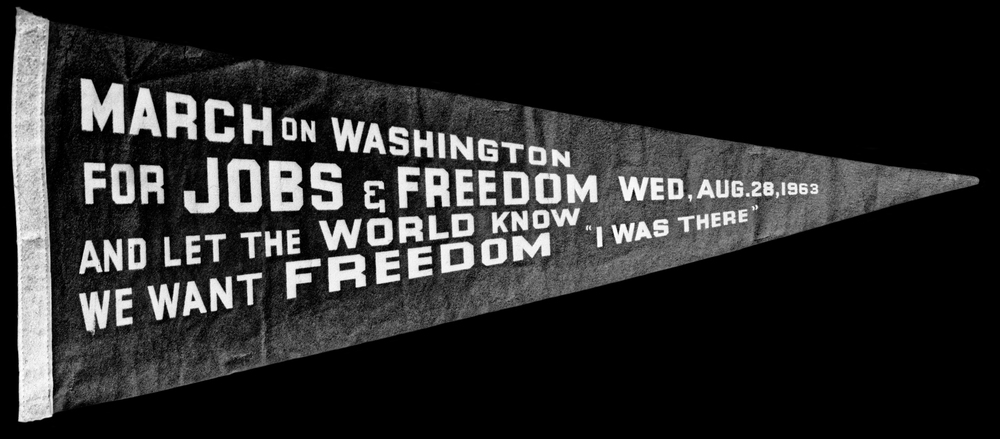 March on Washington Banner | Smithsonian Museum | 2009