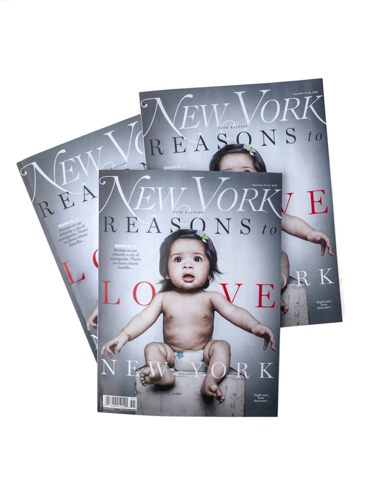 Our founder Platon created a 10-page portfolio, in partnership with New York Magazine, celebrating the age of multiculturalism. Pictured within, immigrants and recent citizens ranging in age from 1 month to 91 years.