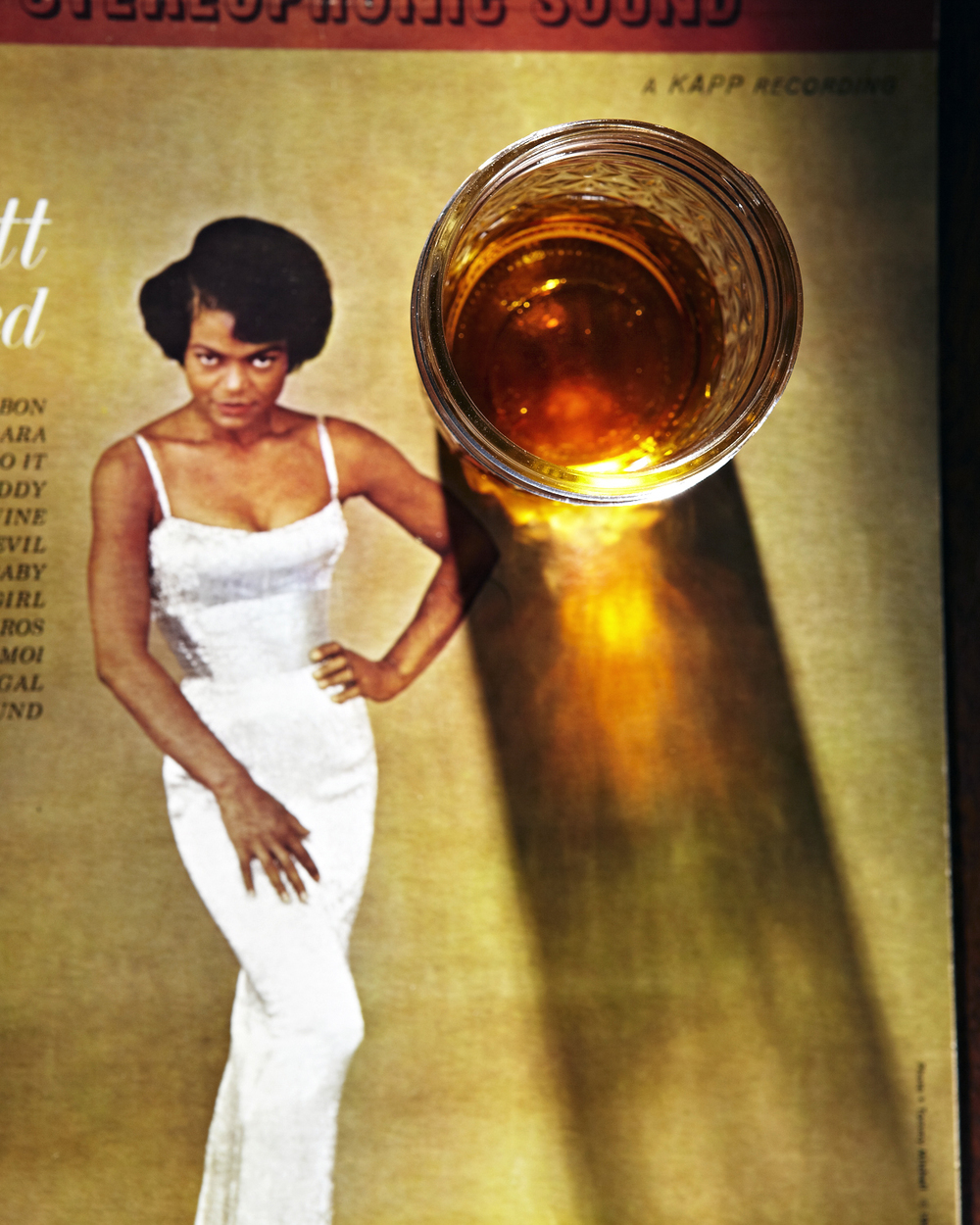 Eartha Kitt and some whisky.