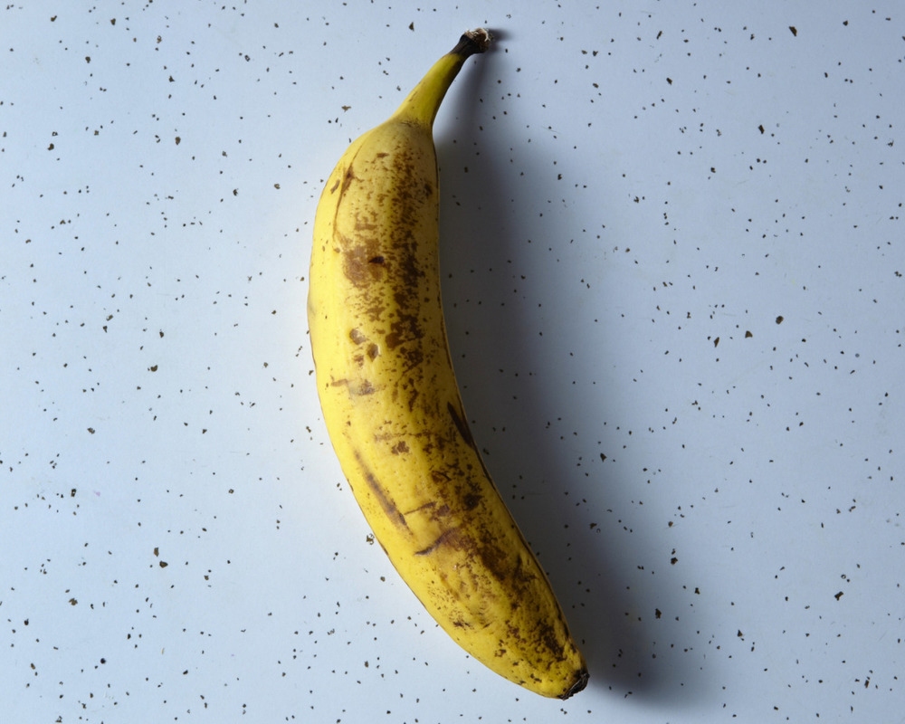 And a banana.