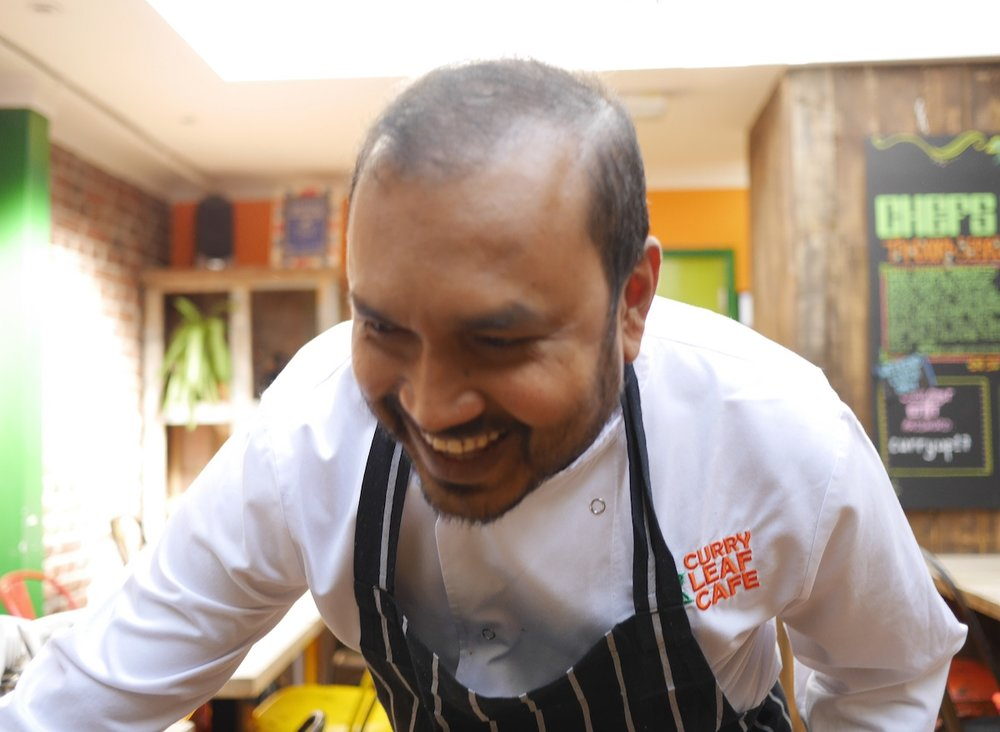 Head chef Gouranga Bera