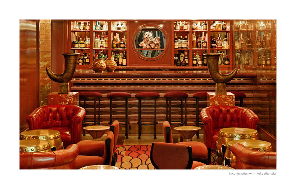 Coral Bar-  The Tides Hotel South Beach
