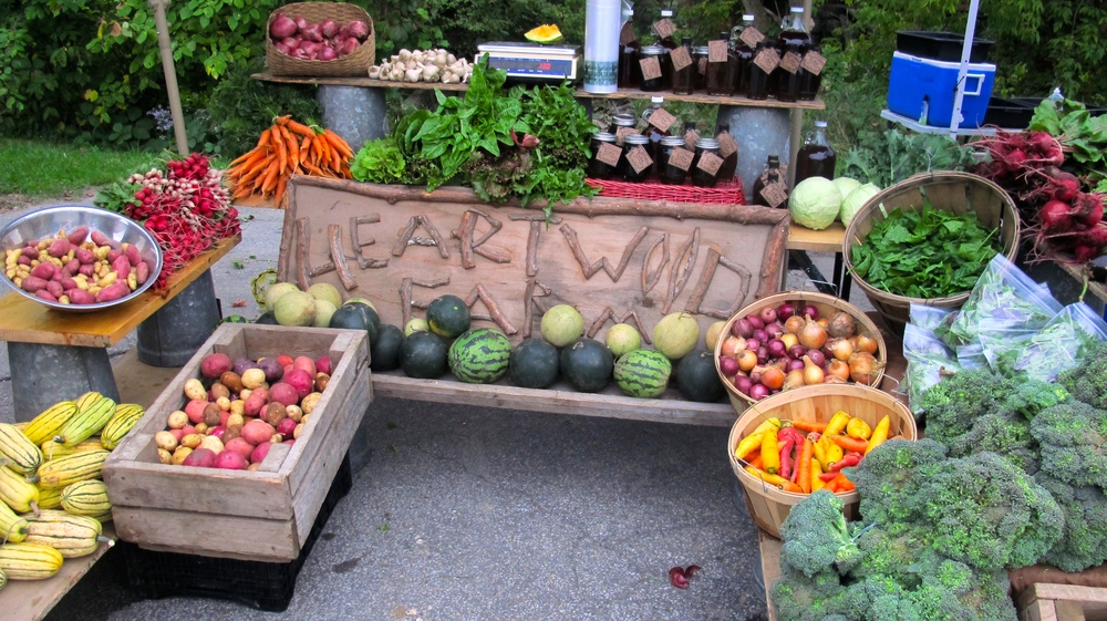 Heartwood Farm Market Display