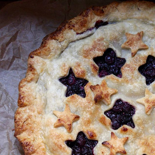 I did my part as an American for this holiday. #patrioticpie