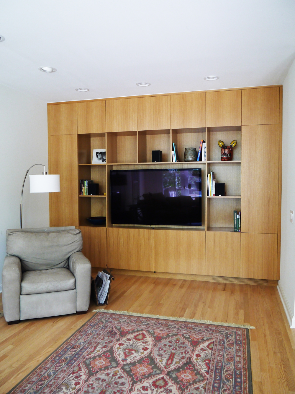 2 Point Perspective - Wilmette Residence Entertainment Center