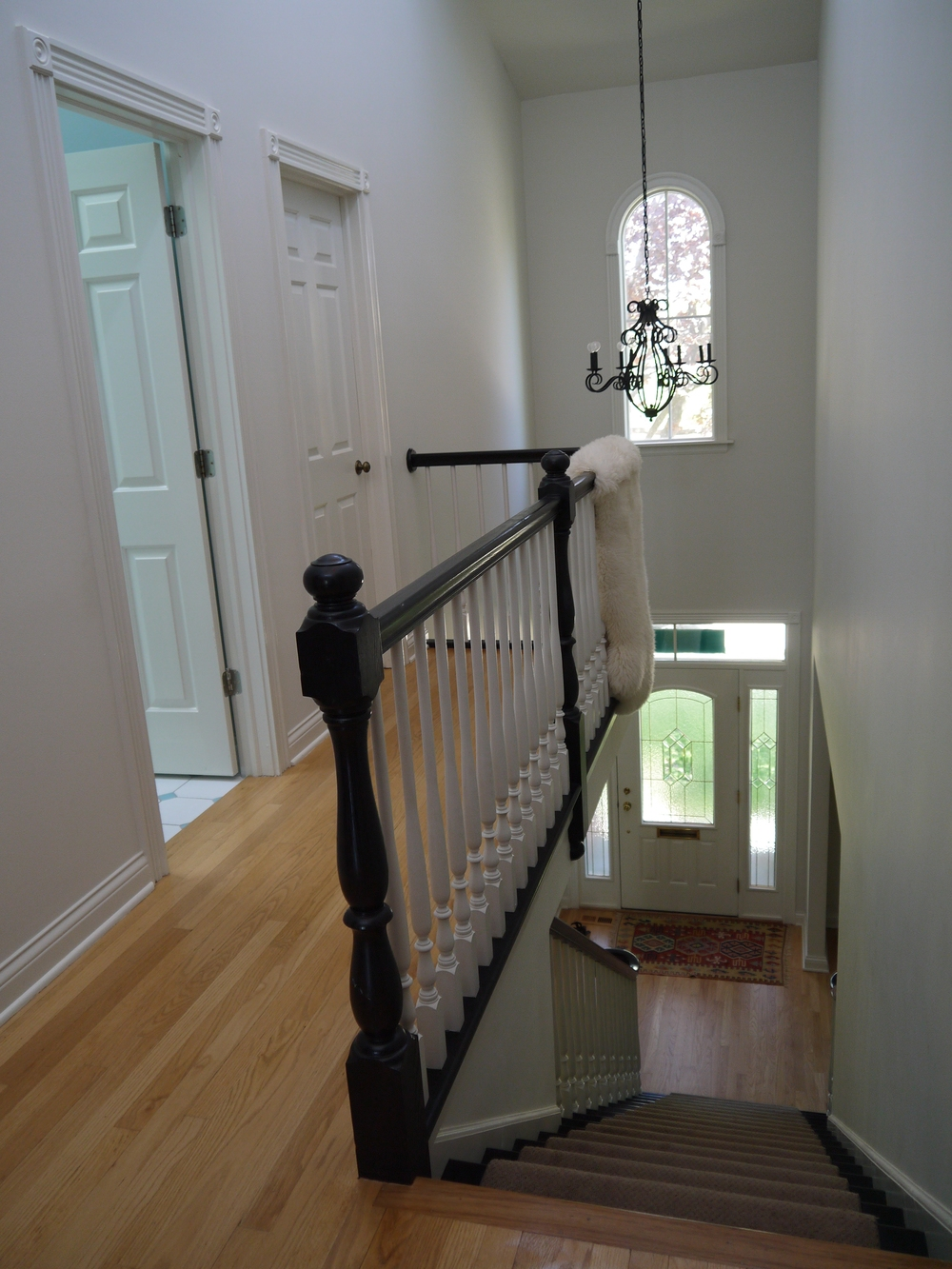 2 Point Perspective - Wilmette Residence Stairs