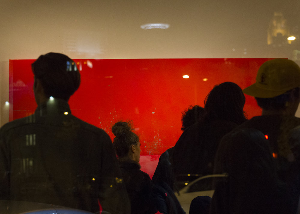 Photograph of Opening Reception by Yazon Lo