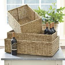 Willow Storage Baskets from Ballard Designs