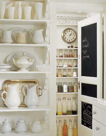 Organized pantry from Country Living