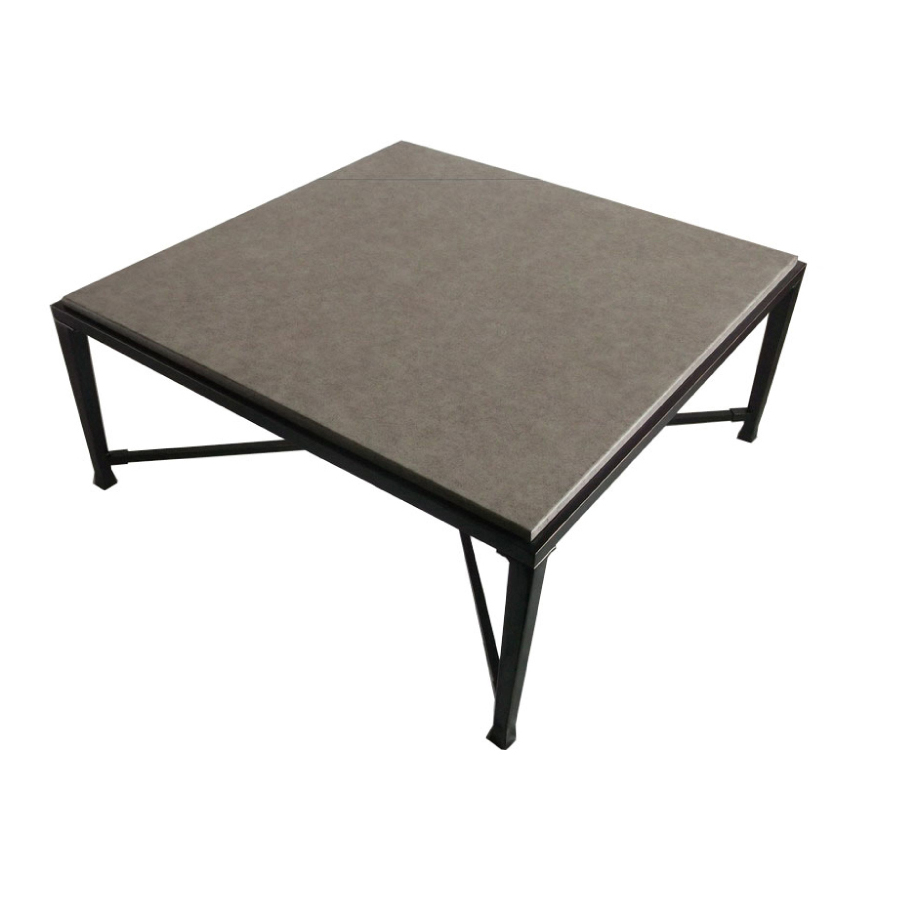 Lowes:  allen + roth Pardini 40-in Aluminum-Frame Square Patio Coffee Table $249