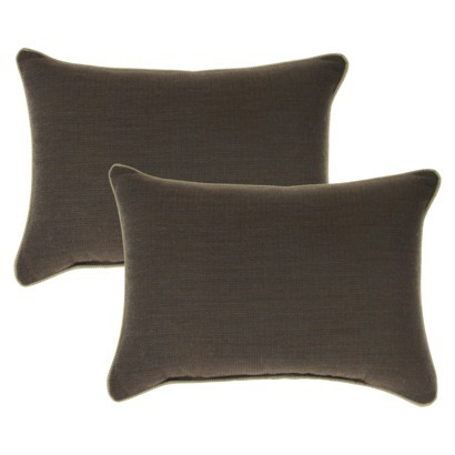 Target  Smith & Hawken 2 piece lumbar pillow set