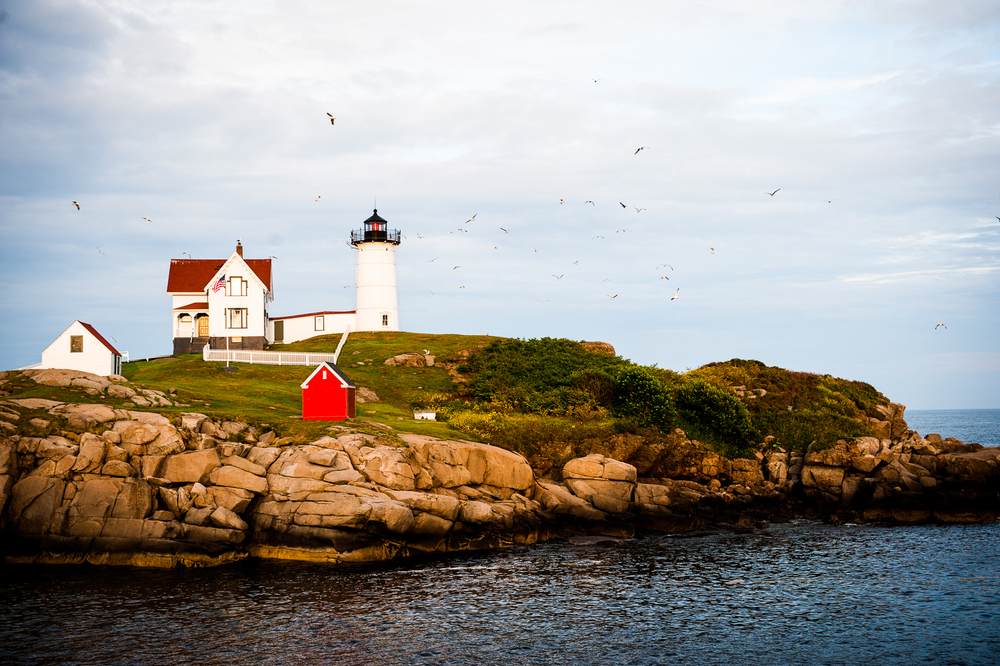 Nubble Lighthouse. York, ME