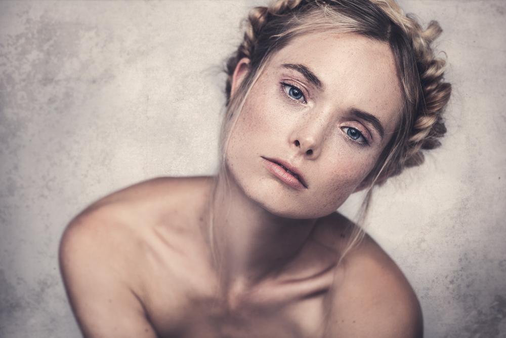Beauty shoot - Freya Gibbs