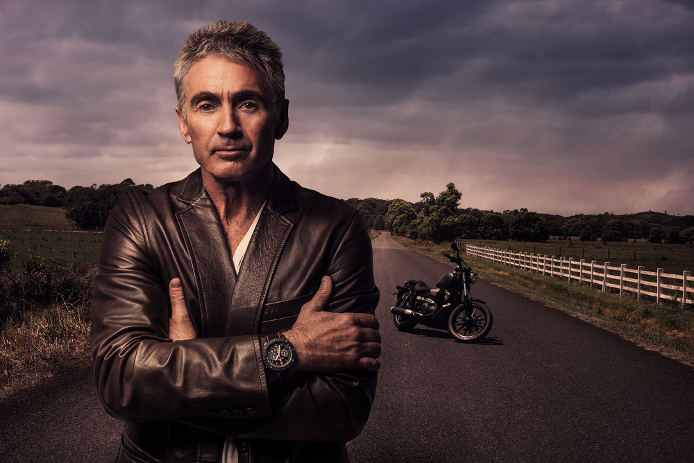 Motorcycle legend, Mick Doohan for TW Steel