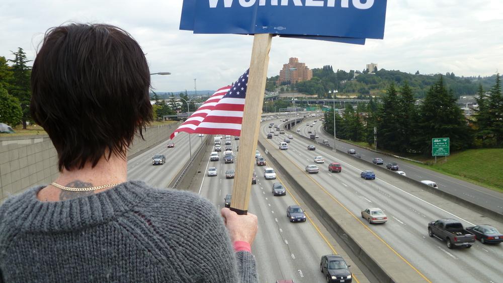 Overlooking I-5