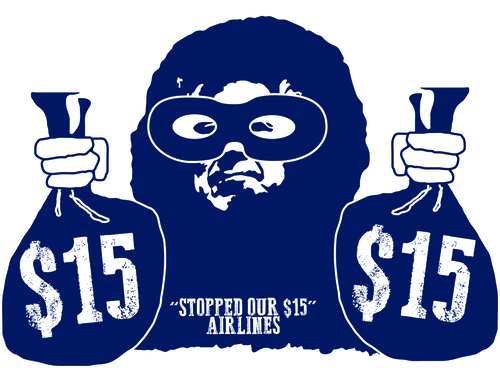 WE'VE BEEN ROBBED    Wednesday, November 19, 2014 •   4  :15 pm   Rally for $15   at Alaska Airlines Corporate Headquarters,