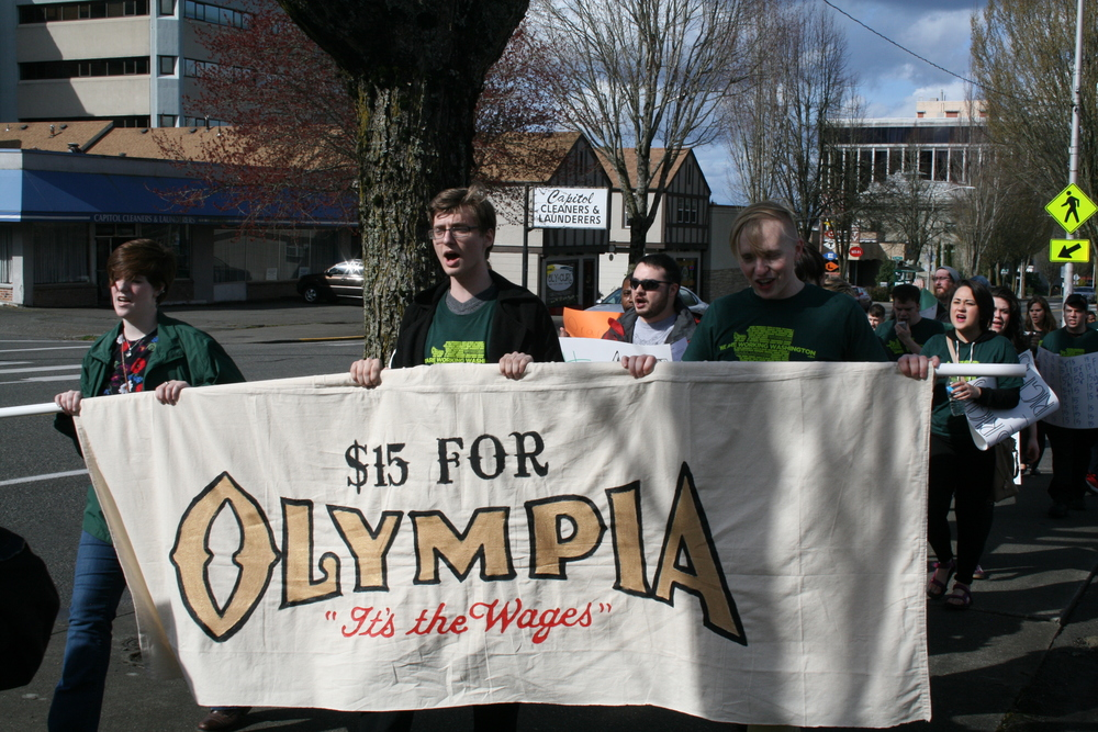 Add your name and show your support for $15 and workers' rights in the city of Olympia!