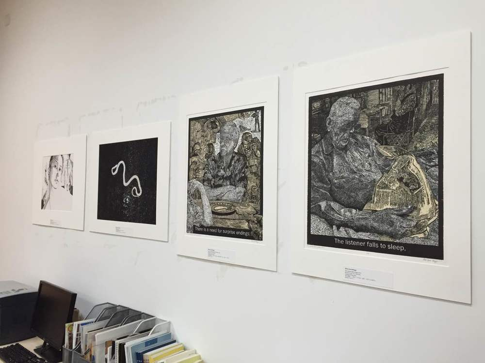 Between Earth and Sky Exhibit at Sichuan University