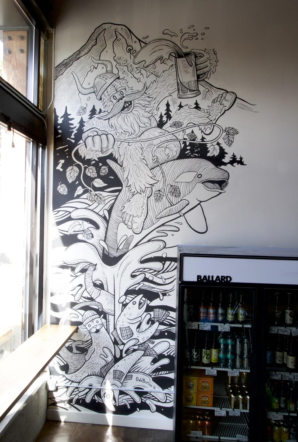 Ballard Beer Company Mural