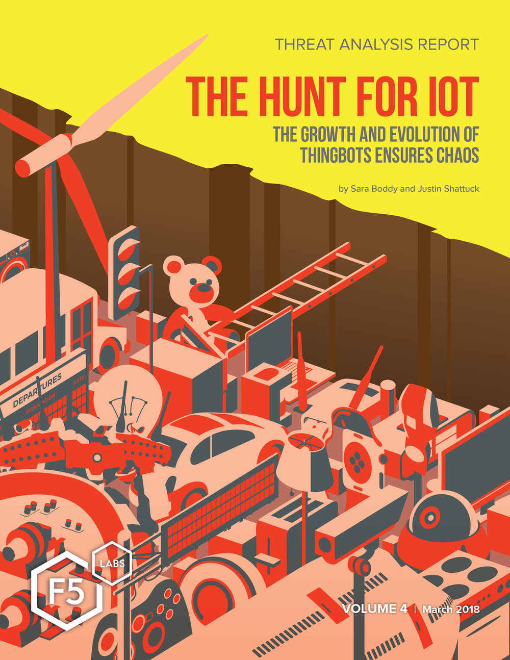 F5 IoT Report #4 Cover Design & Illustration