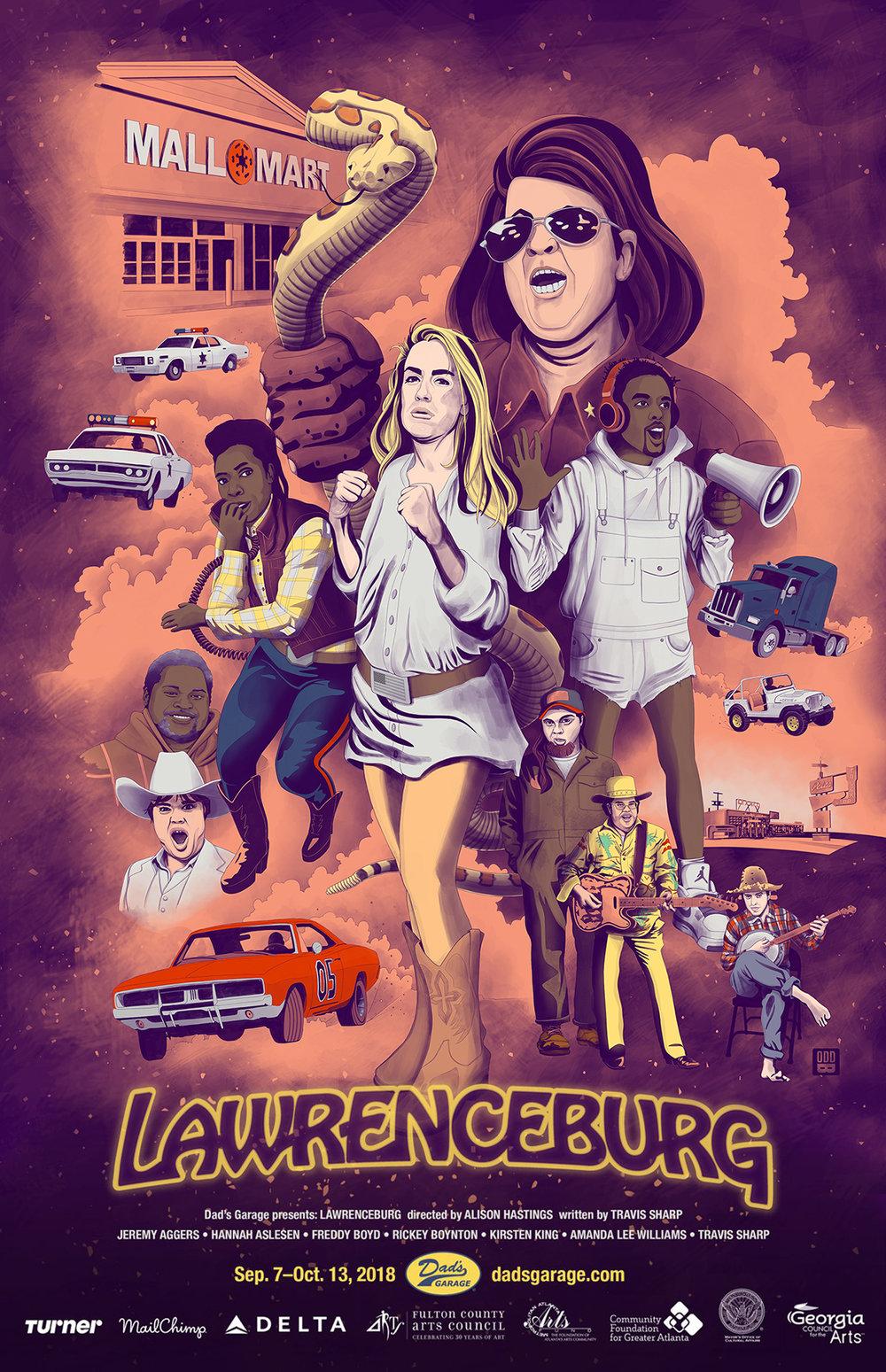 Lawrenceburg Poster