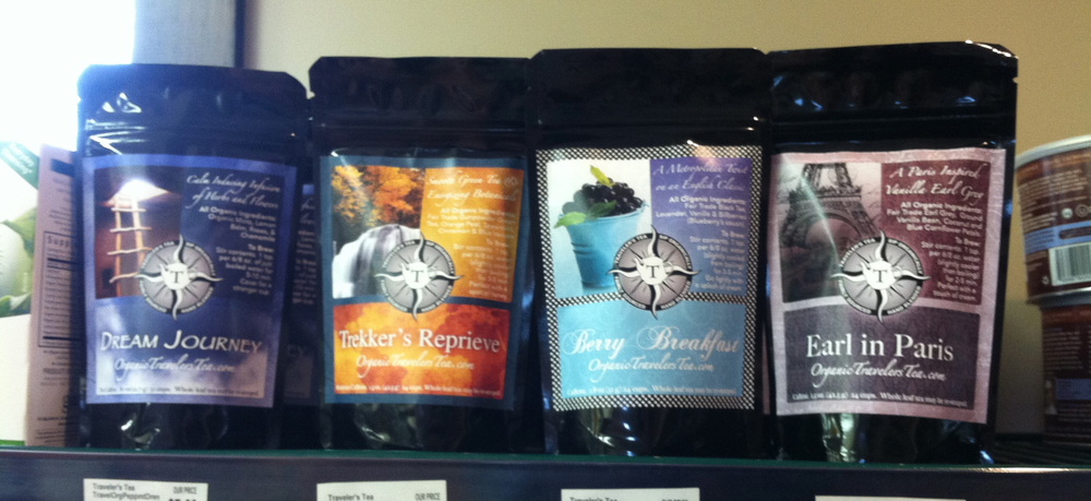 Traveler's Tea can be on your store shelves.