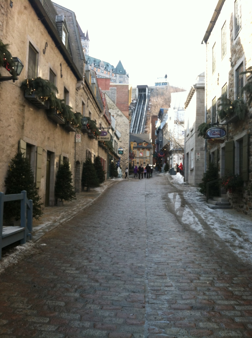 Finding Inspiration On the Streets of Old Quebec City