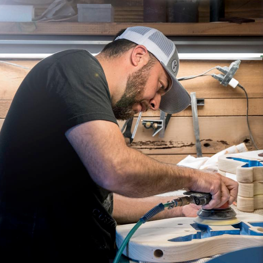 Meet The Builders - Custom Shop Team